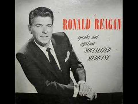 Ronald Reagan on Universal Healthcare