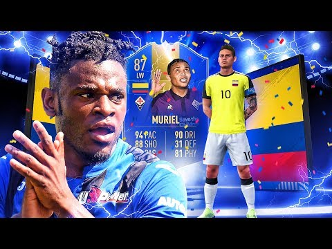 IS TOTS ZAPATA WORTH IT?! 87 TEAM OF THE SEASON MURIEL PLAYER REVIEW! FIFA 19 Ultimate Team