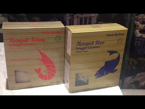 Krupuk Udang Tebing Tinggi-Medan NY SANG. Kini tersedia di Loka Supermarket Flavour Bliss Alam Sutra