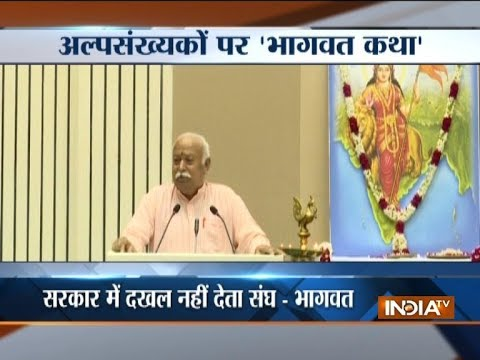 RSS chief Mohan Bhagwat says there will be no Hindutva without Muslims in India