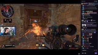 Shroud Plays COD BO4 Sniper GOD