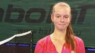 """Кристина Волгапкина о занятиях теннисом с 3 лет, """"Roland Garros"""" и тренировках в СК Салют Гераклион"""