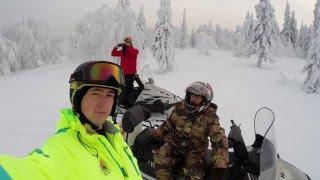 Путешествие на г. Старик Камень на снегоходах Yamaha Viking 540 IV(Путешествие на снегоходах Yamaha Viking 540 IV на гору Старик Камень хребта Веселые горы под Нижним Тагилом. Высота..., 2015-12-23T18:31:28.000Z)