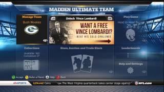 Madden 13 Ultimate Team Week 5 Update + Bonus DDT!!