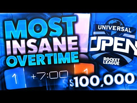 $100000 NBC 2V2 QUALIFIER! | Most Insane Overtime... (Rocket League FULL Tournament Gameplay)