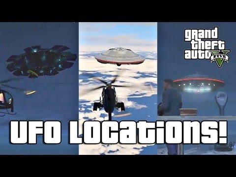 GTA V: All Secret UFO Locations! (So Far)
