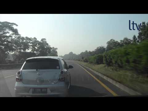 Bandung Toll Road (Jalan Tol Padalarang - Cileunyi) eastbound drive