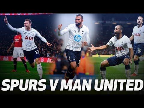 SPURS' MOST MEMORABLE MAN UNITED STRIKES | Ft Kane, Eriksen, Dempsey, Sandro and Defoe! Mp3
