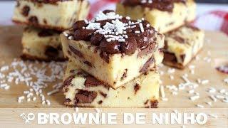 BROWNIE DE LEITE EM PÓ COM CHOCOLATE RECEITAS QUE AMO
