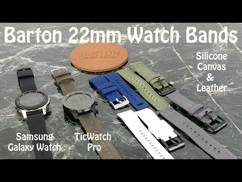 barton-22mm-watch-bands-for-samsung-galaxy-watch,-ticwatch-pro-&-more