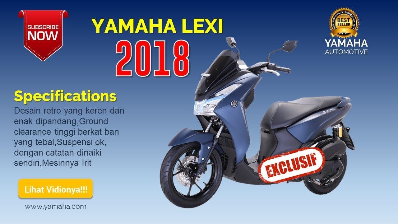 Lihat Apa Yang Terbaru Dari Yamaha Lexi 2018 Youtube