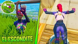 **SECRETO** ESCONDITE BAJO TIERRA EN FORTNITE BATTLE ROYALE | LOCALIZACIÓN OCULTA DE FORTNITE
