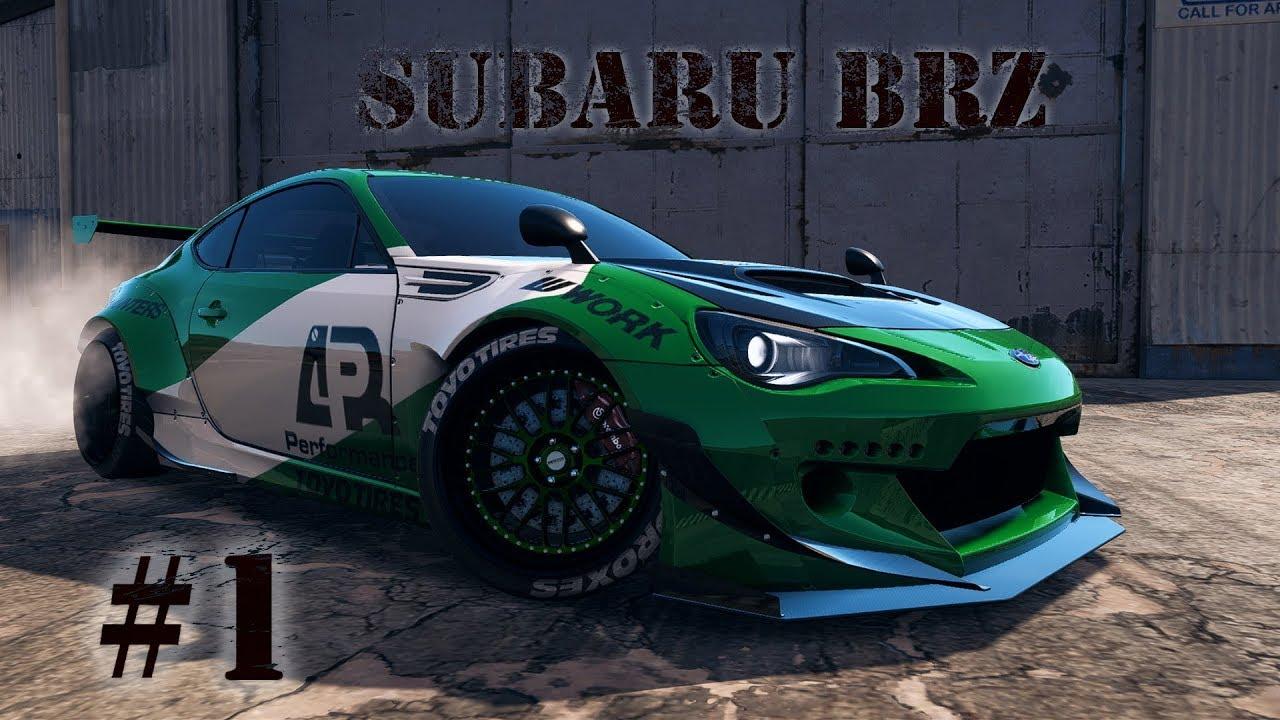 Subaru BRZ|Rocket Bunny|Cinematic Need For Speed Payback ...