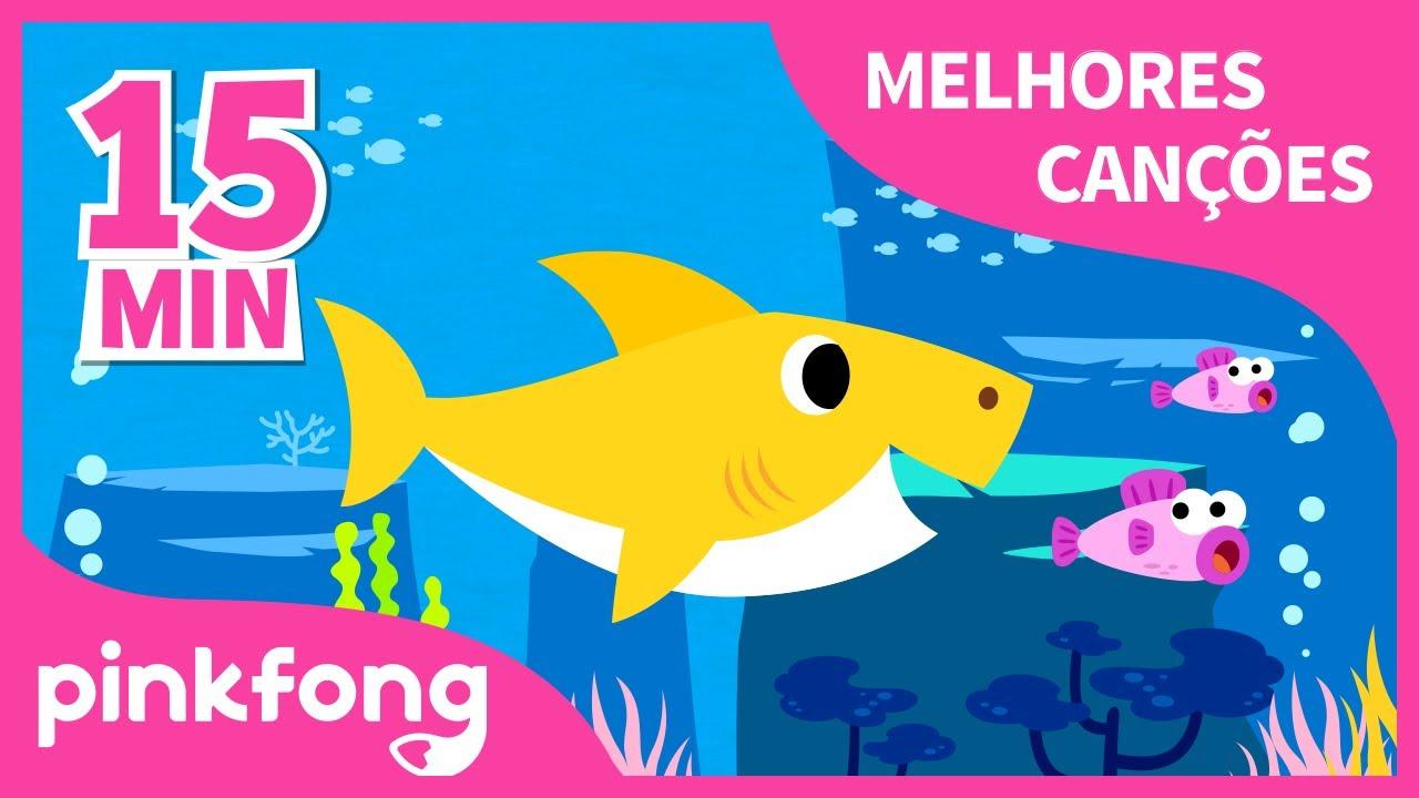 Músicas de Verão | Bebê Tubarão | + Compilação | Pinkfong Canções para crianças