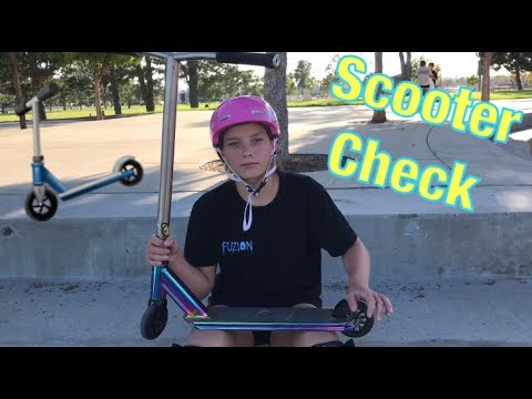 SCOOTER CHECK + CLIPS