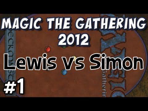 Magic 2012: Simon vs Lewis Round 1