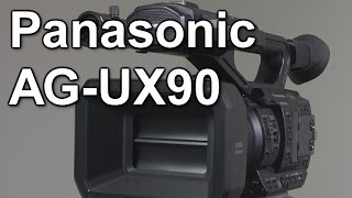 Review: Panasonic AG-UX90 4K camcorder (vs UX180 and HC-X1)