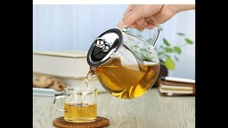 Glass Pyrex Teapot With steel Infuser Review