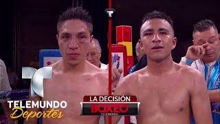 ¡Hubo revancha! Montaño se proclama campeón a costa de Ruíz | Boxeo Telemundo | Telemundo Deportes