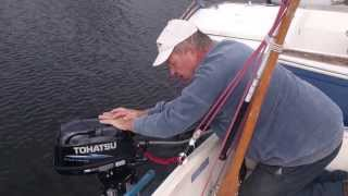 Outboard Motor Start-Up Procedure