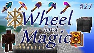 WheelAndMagic #27 - УПРАВЛЕНИЕ ГОЛЕМАМИ - ПОЛЕЗНЫЕ ИНСТРУМЕНТЫ - сборка 1.12.2 с таумкрафт 6