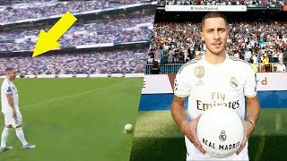 Eden Hazard First Day and First Goal in Real Madrid
