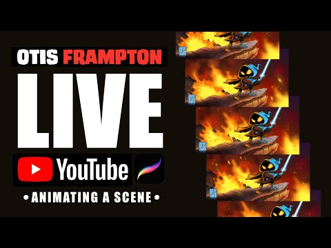 Otis Frampton LIVE - July 12th, 2019 - Animating A Scene