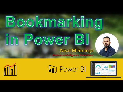 Bookmarking in Power BI