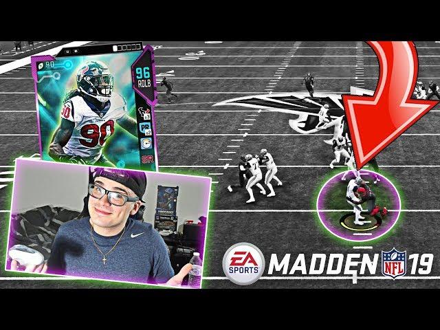 POWER UP BLITZ CLOWNEY CANNOT BE BLOCKED! SEASON ENDER! Madden 19 Ultimate Team Gameplay