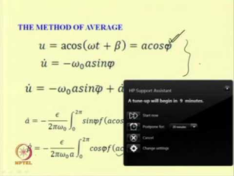 Mod-06 Lec-02 Free Vibration of Single degree of freedom Nonlinear systems: effect of damping