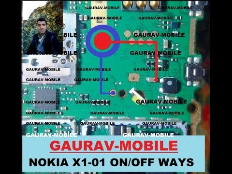 Nokia x1-01 Power Key Points Jumper (100%) Solution