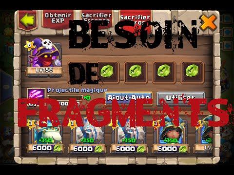 Castle Clash - Tytoriel FRAGMENTS § Comment Avoir Beaucoup De FRAGMENTS & D'IH !