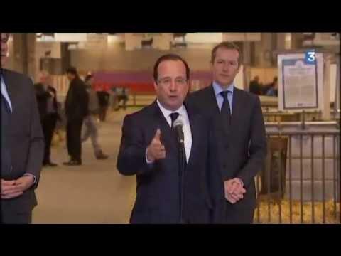 Salon de l'agriculture 2013 porte de Versailles, jour de l'inauguration