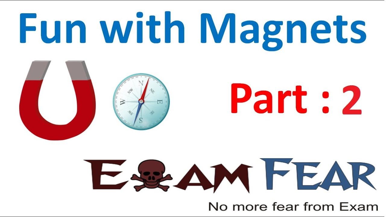 Physics Fun with Magnets Part 2 (Discovery of Magnet, types of ...
