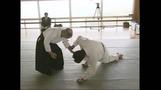 Айкидо. Сенсей Годзо Сиода и молодой Мичихару Мори (Aikido. Gozo Shioda vs young Mori Shihan)
