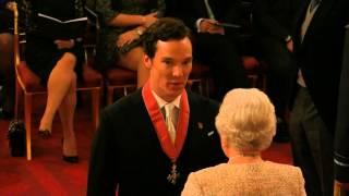 Benedict Cumberbatch handed CBE