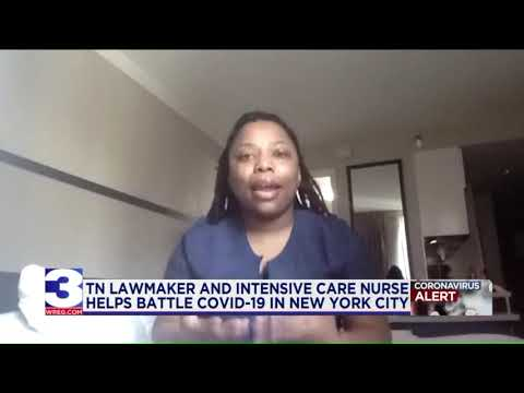 Tennessee Lawmaker On The Front Lines Battling COVID-19