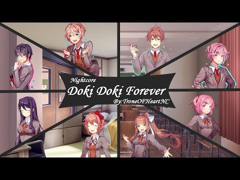 Nightcore-Doki Doki Forever(Male And Female Version❣)(Switching Vocals)