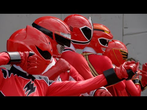 Power Rangers Super Megaforce - Power Rangers vs Tentacus | Episode 1
