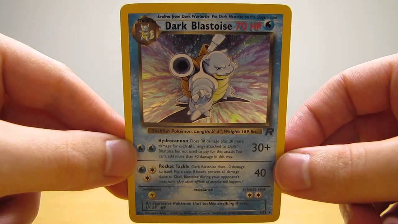 How Much Are Team Rocket Set Pokemon Cards Worth  YouTube
