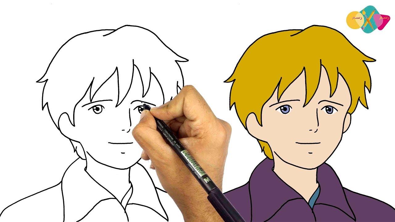 رسم الفريدو من انمي عهد الاصدقاء خطوة بخطوة كيف ترسم انمي