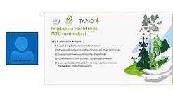 PEFC-webinaarit - Luontokohteet, kulotus ja metsänkäyttöilmoitukset