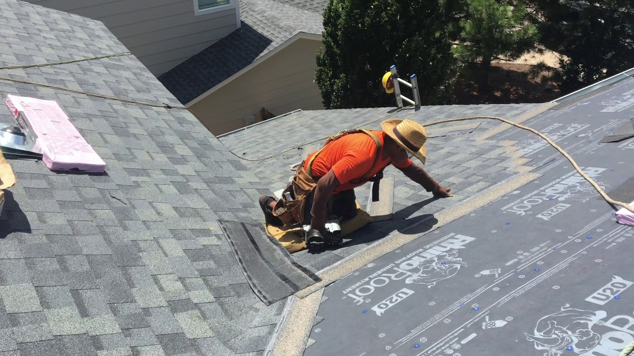 California Cut Valley Installation Trick Roofer Training