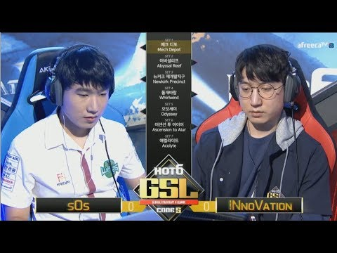 [2017 GSL Season 3]Code S Finals sOs vs INnoVation