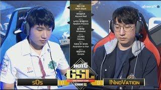 [2017 GSL Season 3]Code S Finals sOs vs INnoVation