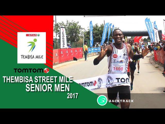 Rantso Mokopane wins the 2017 TomTom Tembisa Streetmile