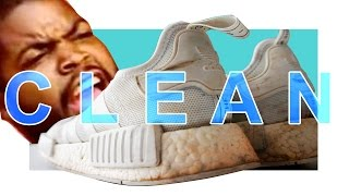How to clean up your filthy white sneakers to former glory