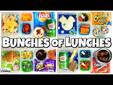 MYSTERY Family Chooses Our Lunches 😱 School Lunch Ideas for KIDS