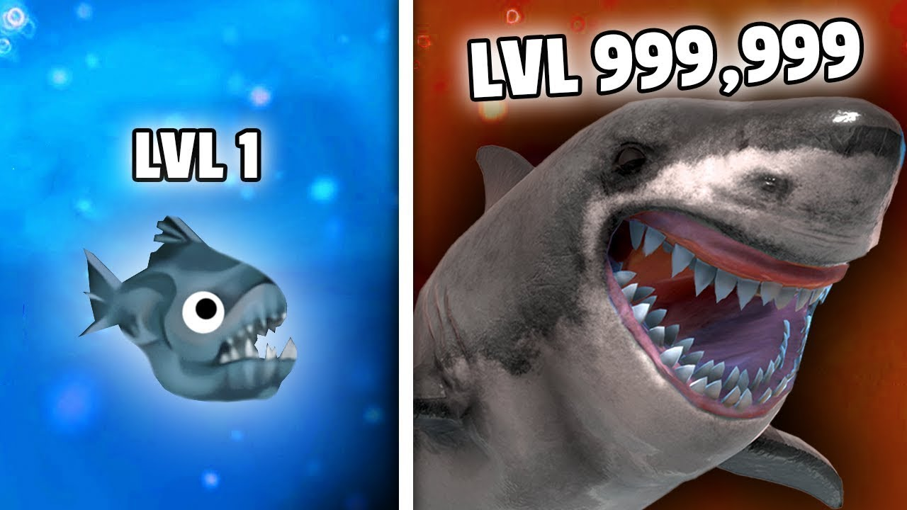 I Evolved My Shark To Fight The Biggest Shark In The Ocean
