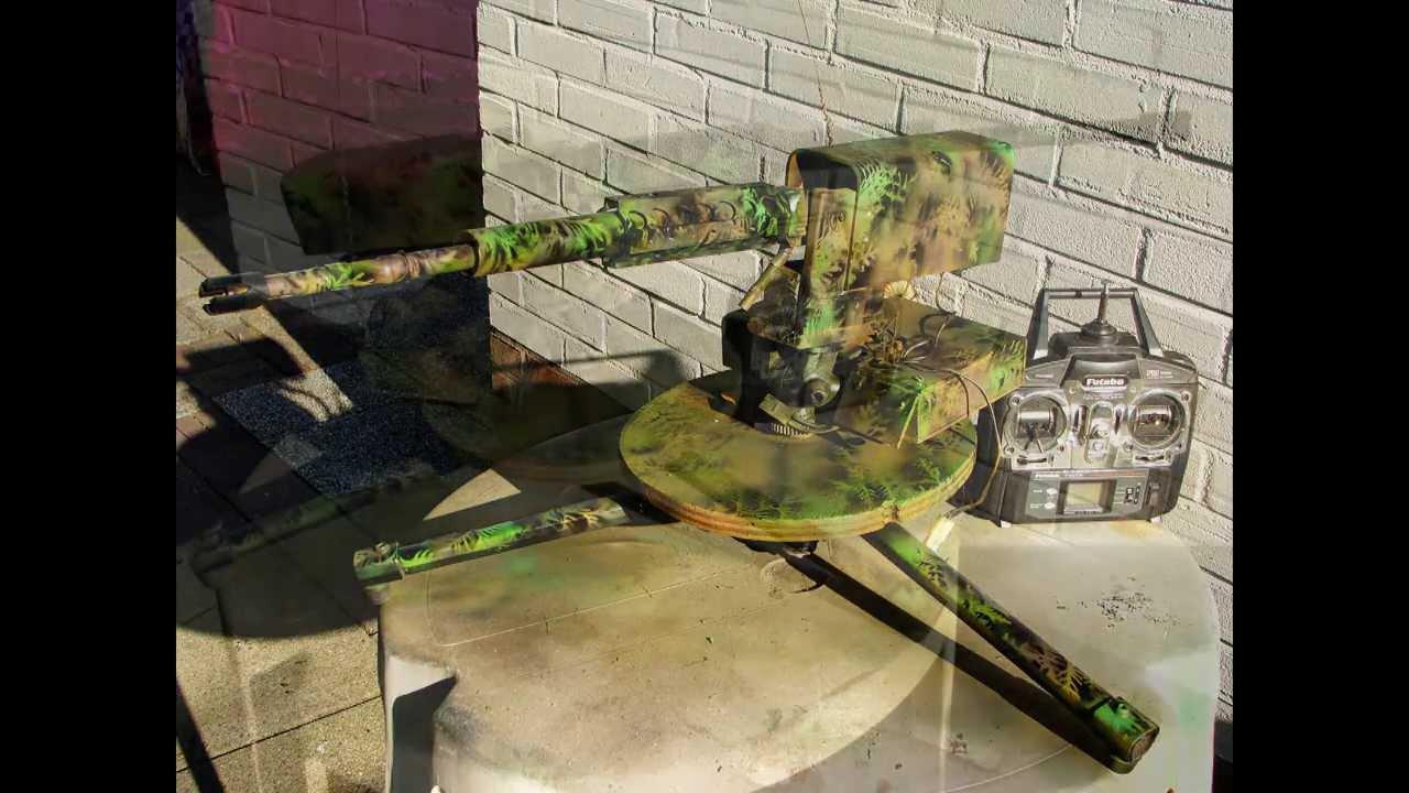 paintball machine gun turret - photo #27